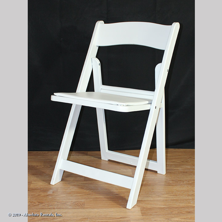 Chair-Folding-Wood-White