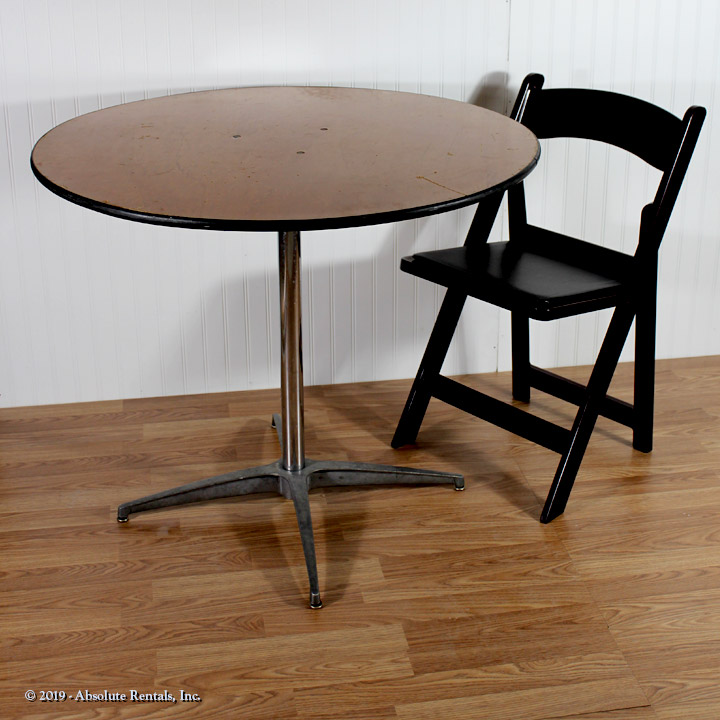 Chair-and-table